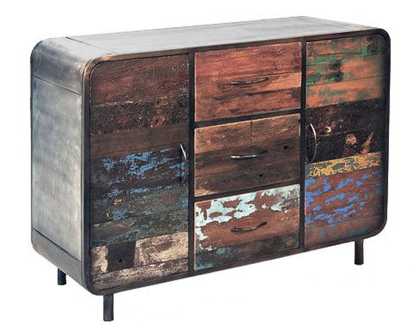 Credenza Moderna Vintage : Credenza moderna senior comò vintage mobile soggiorno in legno