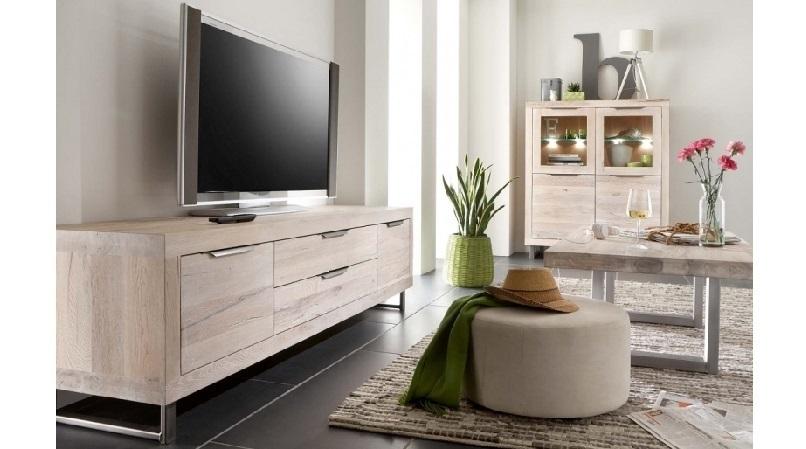 Mobile Tv Bianco E Legno Moderno ~ Il meglio del design degli interni