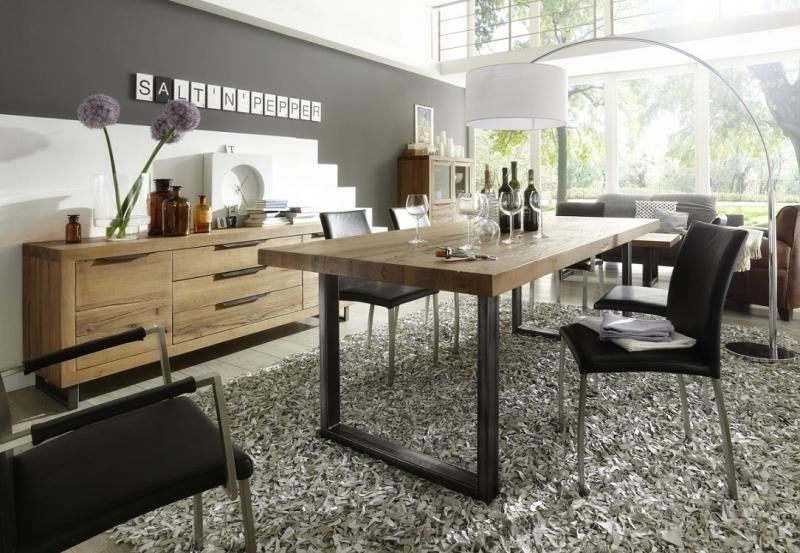 Madia italia in legno rovere massiccio mobile di design for Design moderno di mobili in legno massello