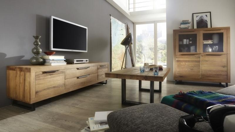 Credenza moderna italia, mobile in legno massiccio di design