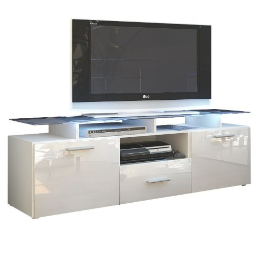 Porta tv design Milano, mobile soggiorno moderno, in 13 finiture