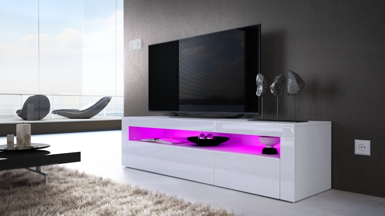 Giglio porta tv di design mobile soggiorno portatv moderno led - Mobile tv moderno ...