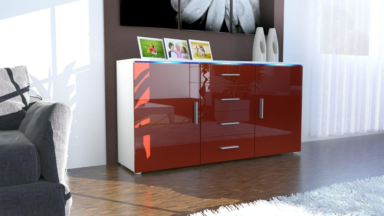 Credenza Ikea Rossa : Credenza moderna laccata rossa mongolia