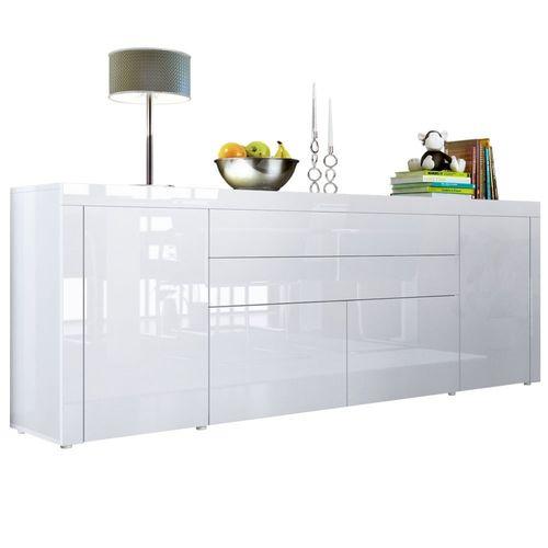 Mobili Credenze Moderne. Credenza Di Design In Legno Massello Aiko ...