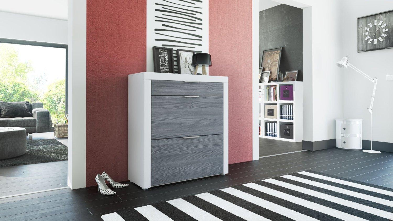 Scarpiera mira moderna e funzionale contiene 16 paia di - Scarpiera moderna design ...