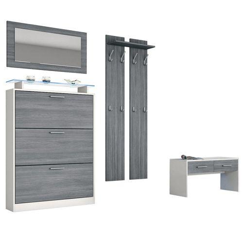 Mobili per entrata mobili per ingresso scarpiere - Scarpiera specchio ikea ...