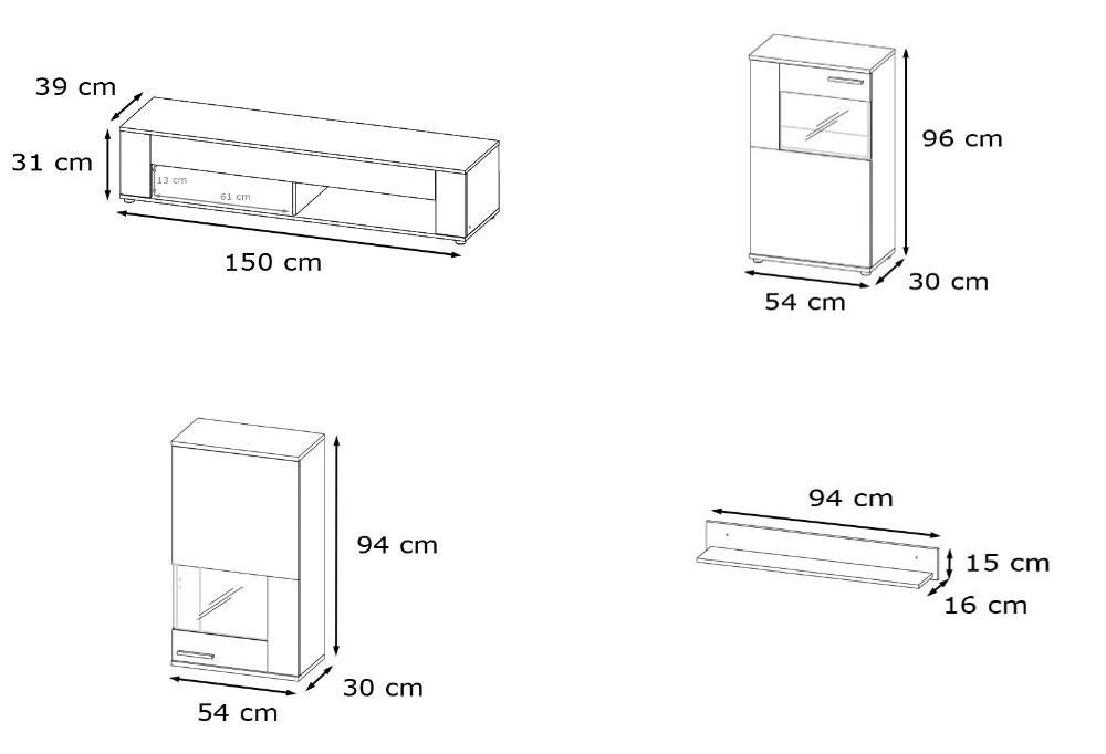 Firenze soggiorno moderno,parete porta tv,composizione di design