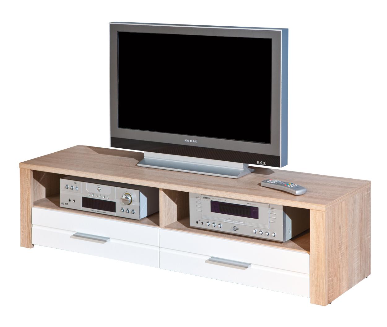 Porta tv carlo 23 mobile tv moderno soggiorno bianco e - Mobile tv soggiorno ...