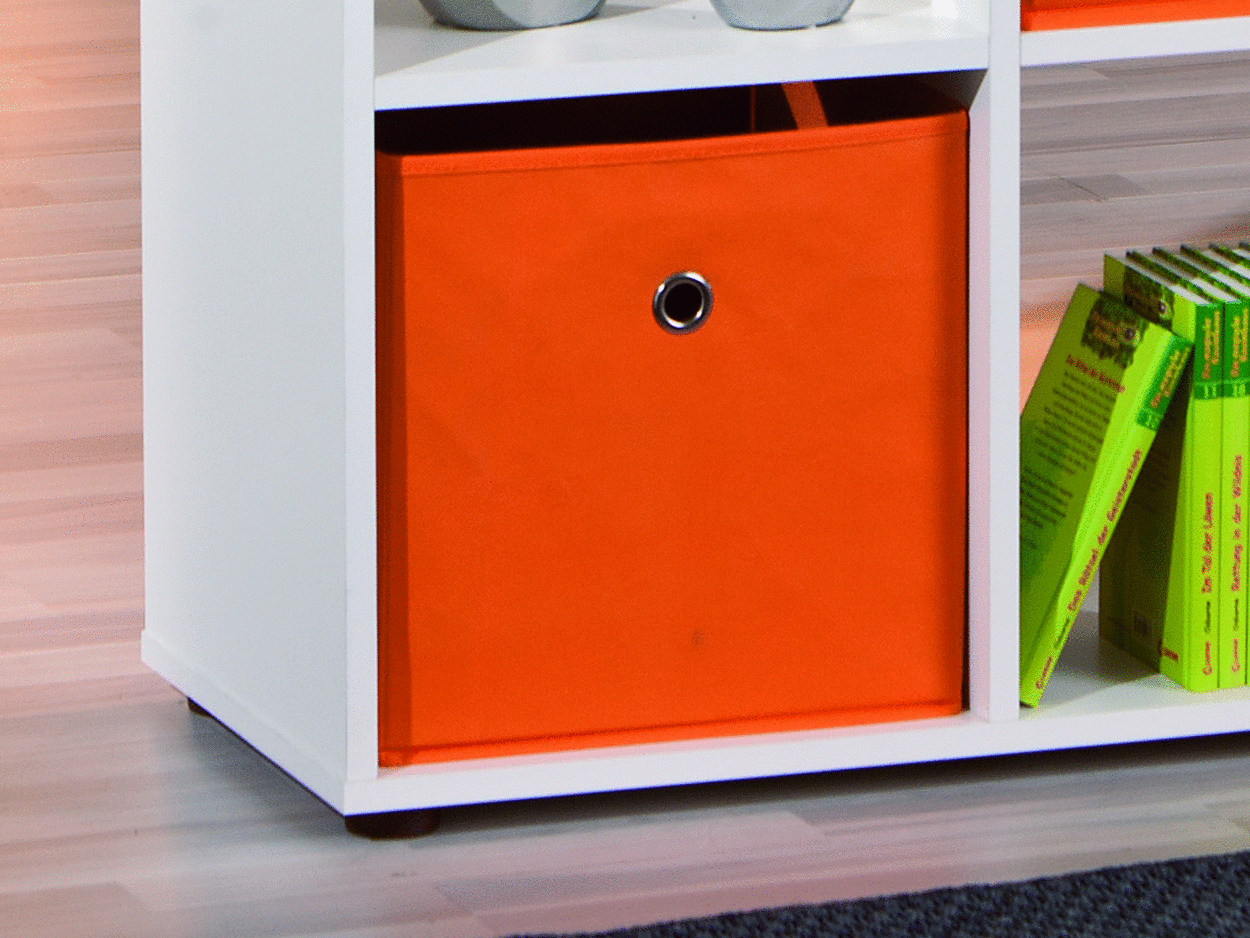 scaffale moderno giulio 98, mobile soggiorno,ufficio di design - Mobile Ufficio Bianco