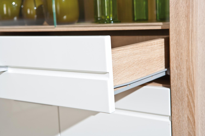 Vetrina moderna letizia in due misure mobile soggiorno moderno - Mobile vetrina moderno ...