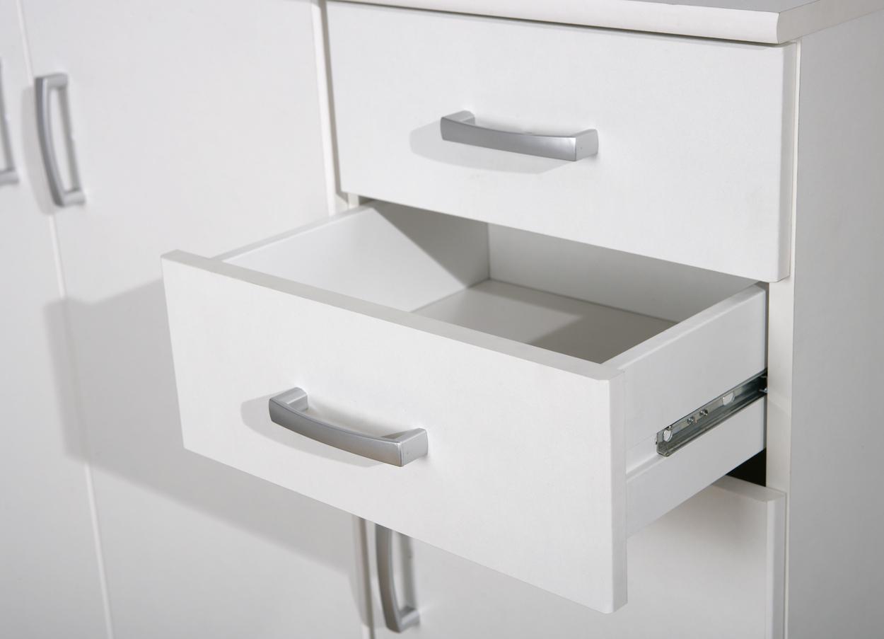 Mobile moderno e funzionale pietro credenza bianca pratica - Di pietro mobili ...