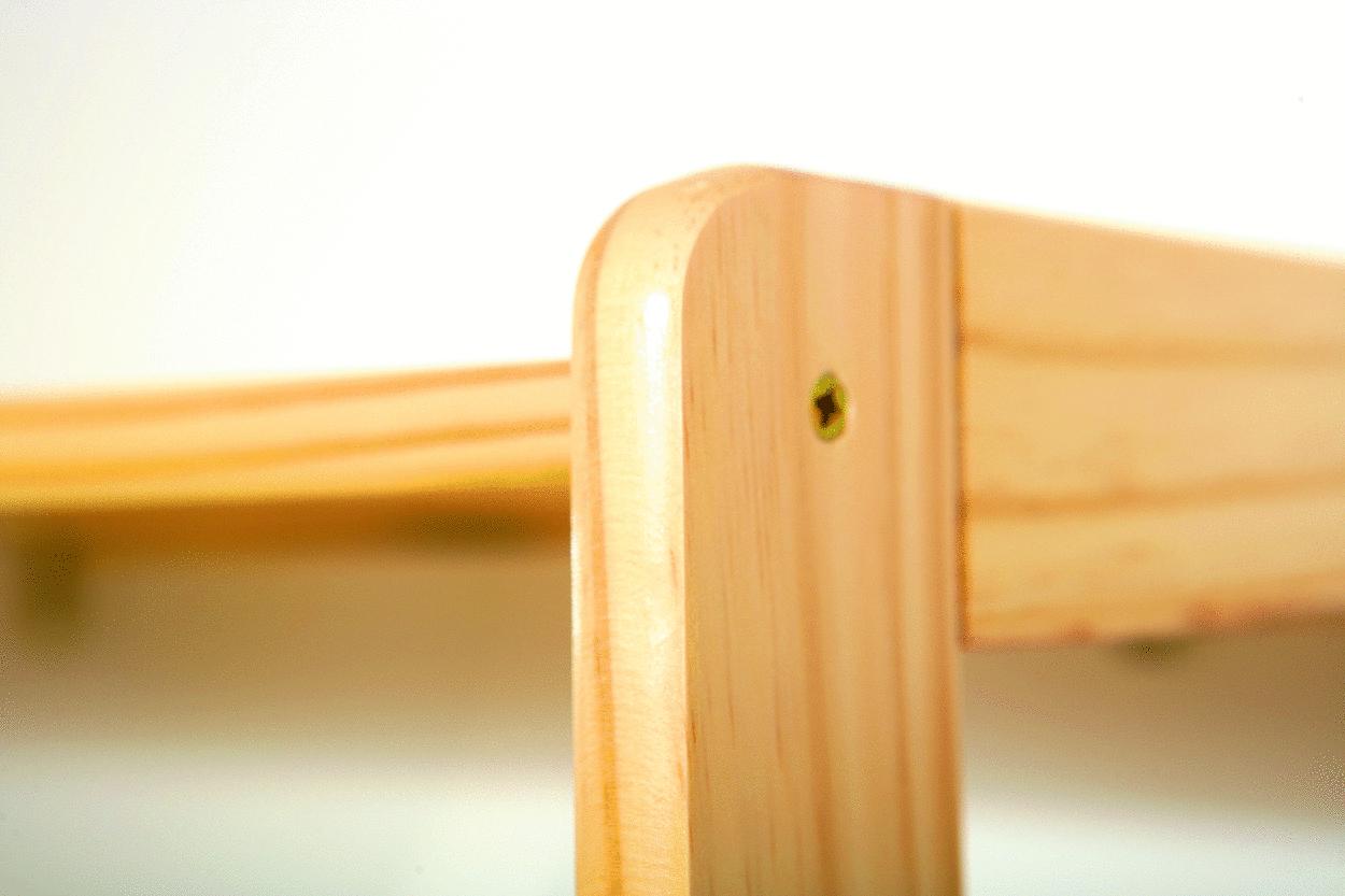 Scaffale componibile jolly mobile moderno il legno massello for Design moderno di mobili in legno massello