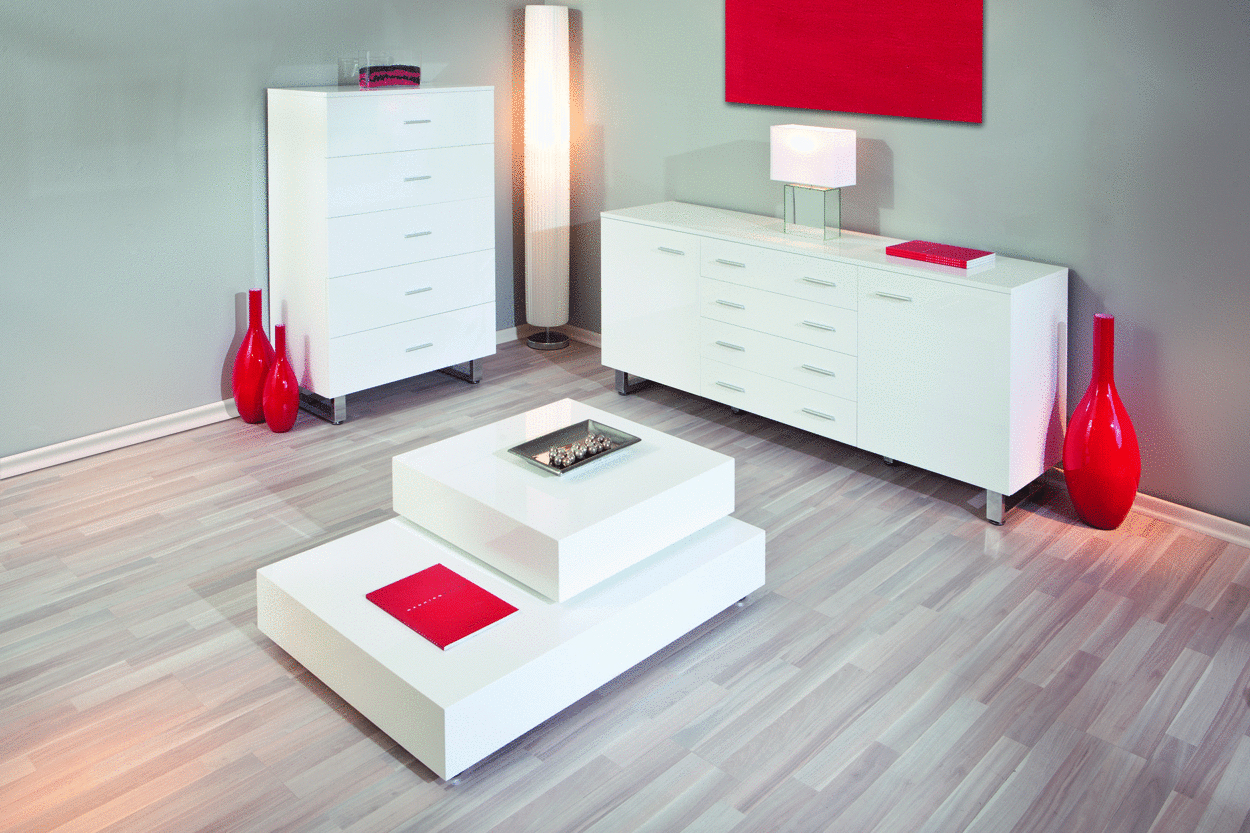 ... moderna Sabrina, mobile sala e soggiorno bianco,cassettiera design