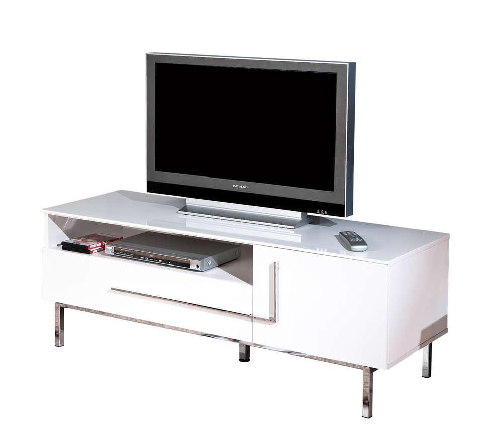 Conosciuto Porta tv moderno Jole 23,mobile tv bianco, soggiorno di design ZN37
