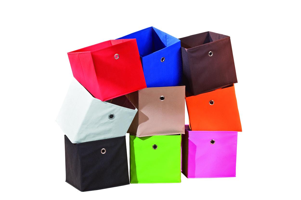 Mobili Soggiorno Per Tv : Gixi contenitori moderni scatole in stoffa per scaffali di