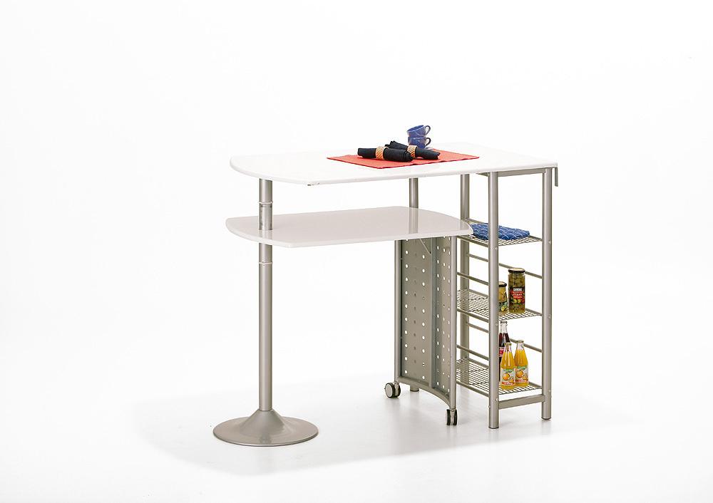 Tavolo moderno in metallo Compact per cucina salvaspazio