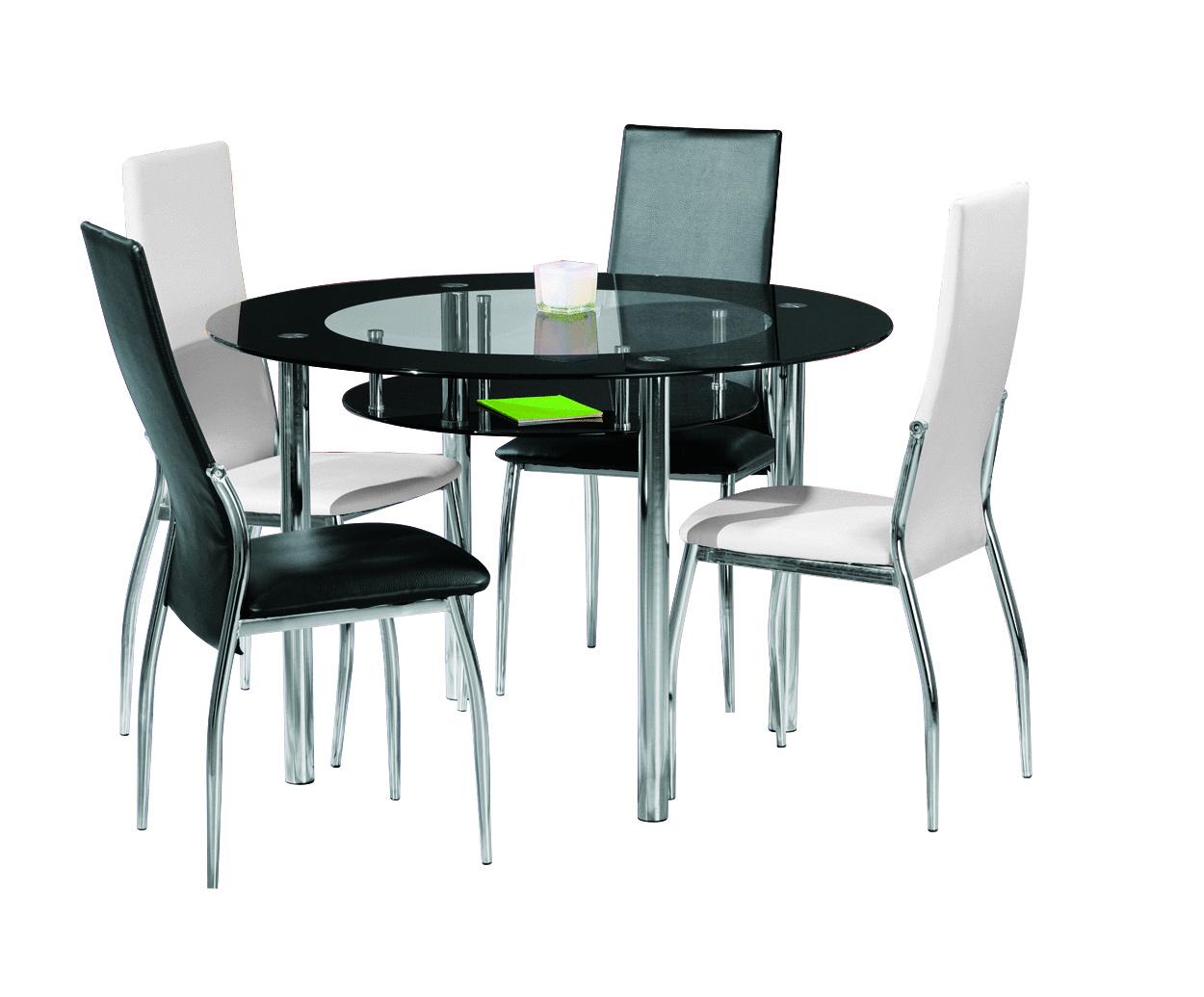 Glass tavolo moderno in vetro tavolo in due modelli per - Tavolo cucina moderno ...
