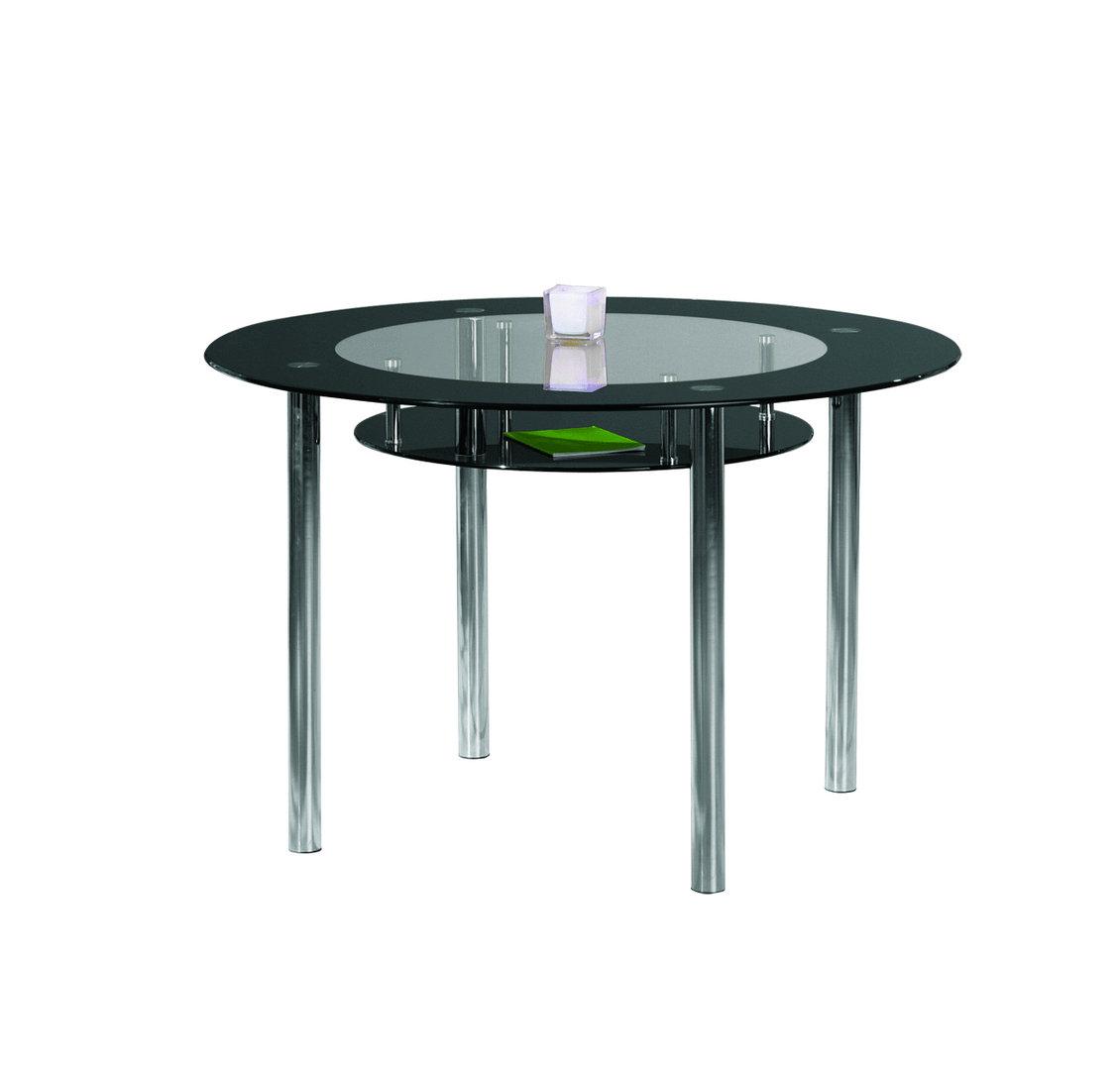 Glass Tavolo Moderno In Vetro Tavolo In Due Modelli Per Cucina #36780F 1130 1080 Tavolo Sala Da Pranzo Rotondo