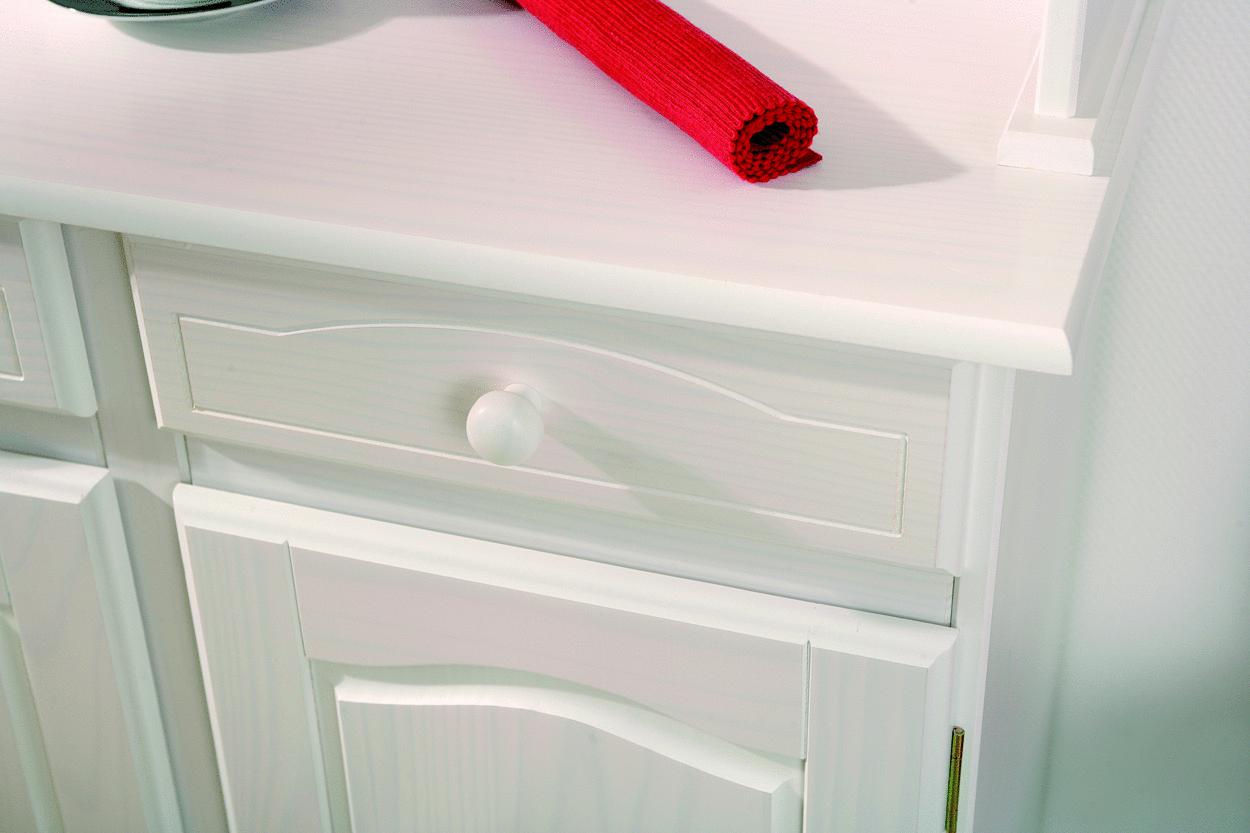 vetrina classica bianca fiona, mobile cucina,soggiorno country - Vetrina Soggiorno Bianca