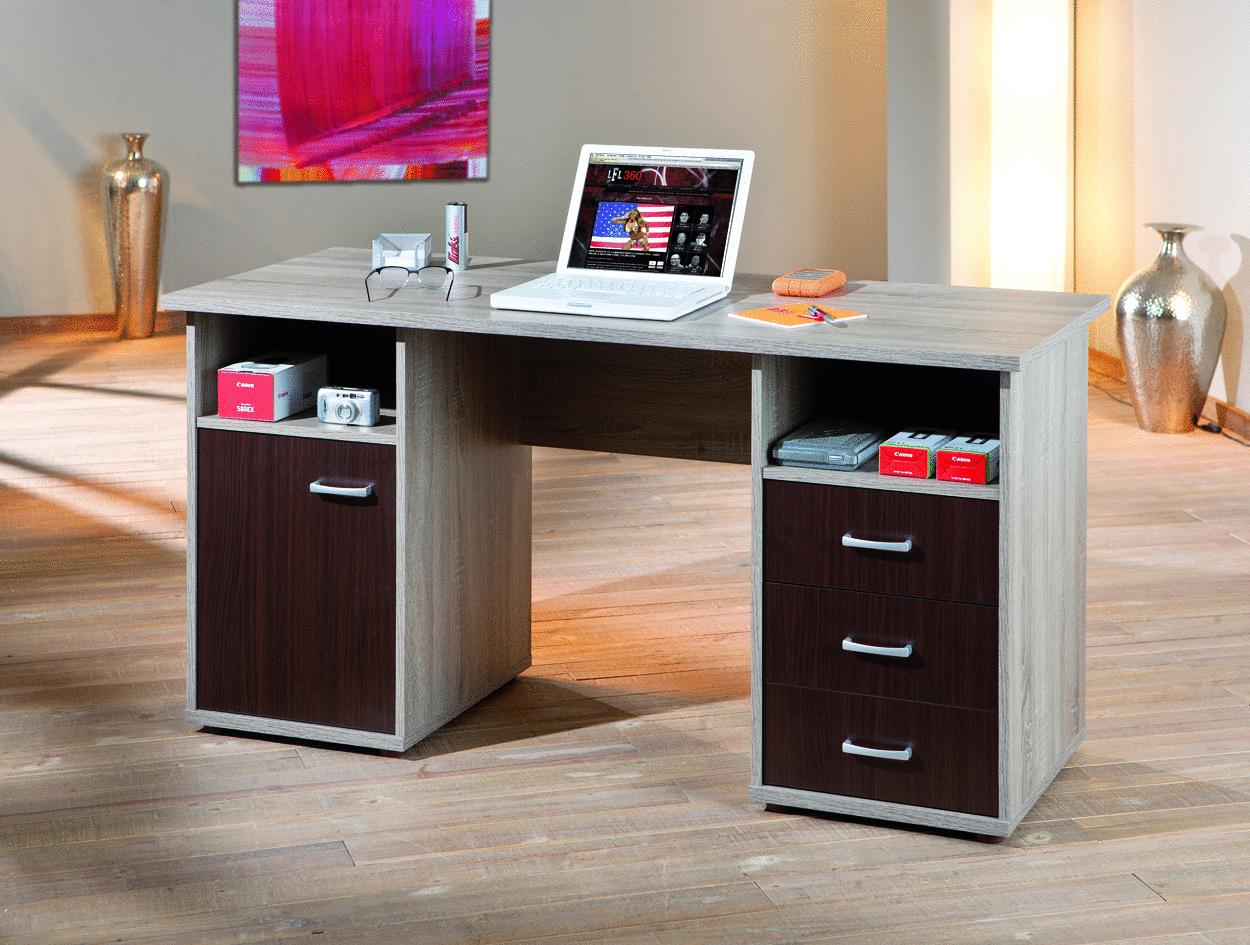 Desky scrivania moderna in tre colori mobile ufficio studio for Consolle scrivania moderna