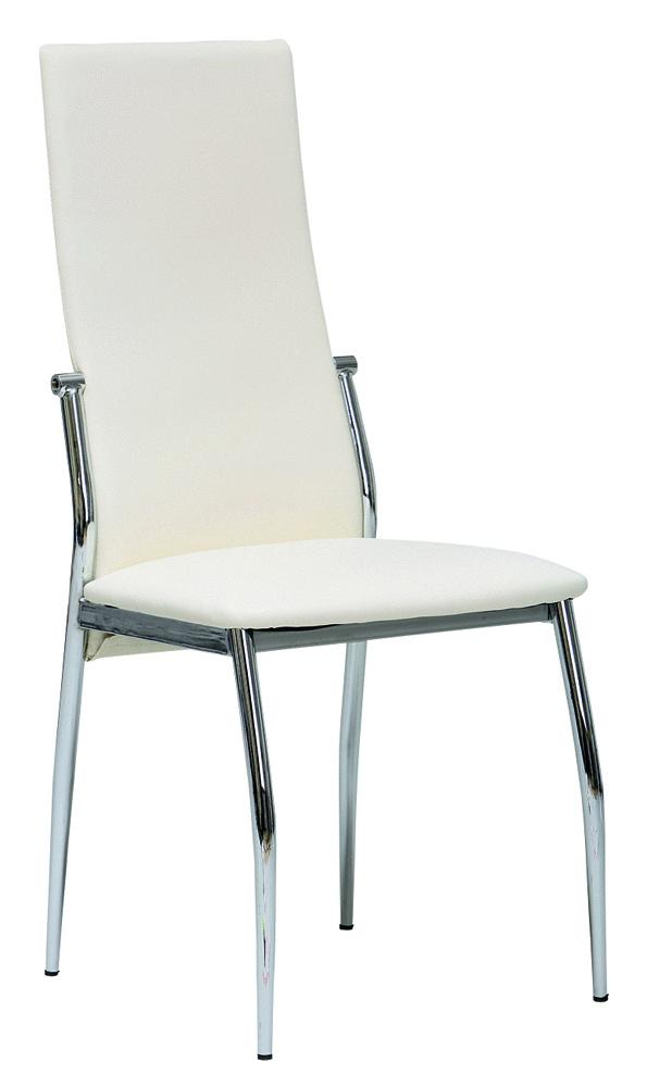 Sedia moderna bianca o nera mobile ufficio cucina sala for Sedia design bianca