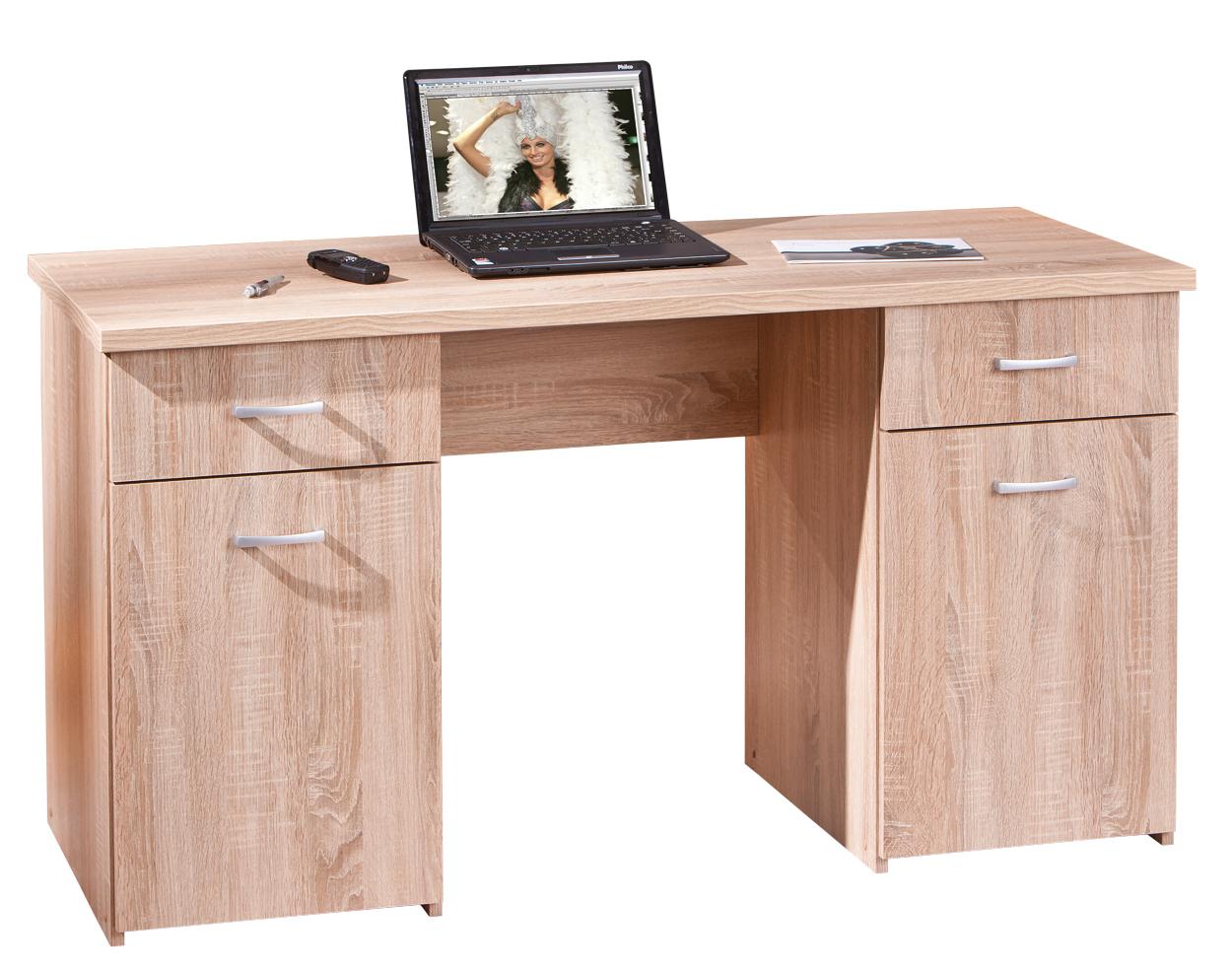 Scrivania moderna desky 89 mobile ufficio e studio rovere for Consolle scrivania moderna