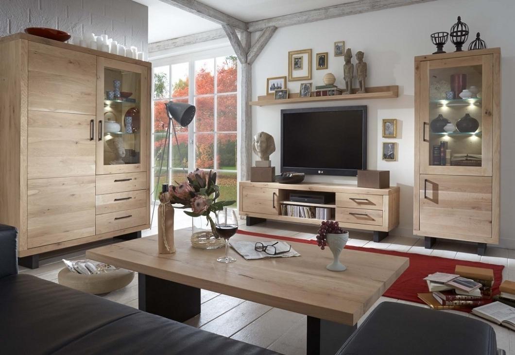 Vetrina in legno massiccio gold credenza soggiorno moderno for Mobili soggiorno legno