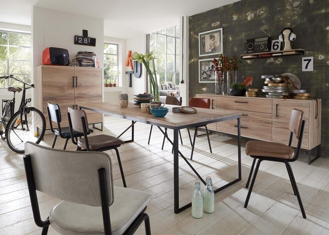 Tavolo da pranzo master in legno massiccio moderno e di for Tavolo pranzo design