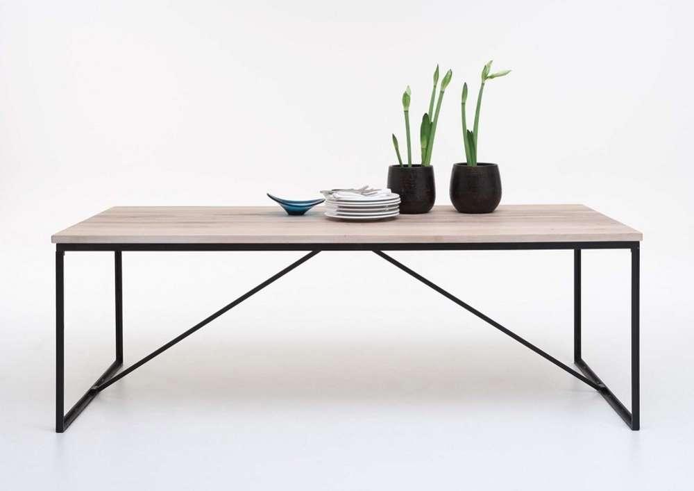 Tavolo da pranzo Master in legno massiccio, moderno e di design