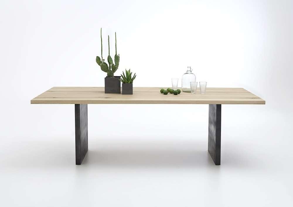 tavolo da pranzo gold, in legno massiccio, mobile moderno, sala - Tavolo Da Cucina Moderno