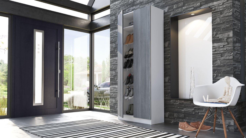 Scarpiera moderna tosca mobile entrata armadio ingresso for Armadio ingresso