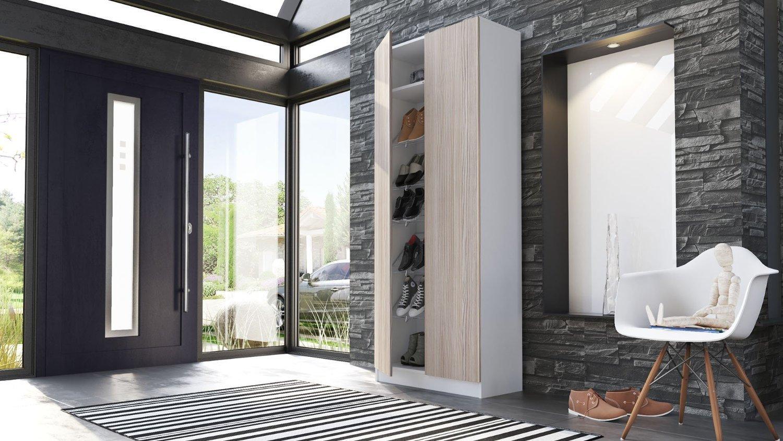 Scarpiera moderna tosca mobile entrata armadio ingresso for Armadio per ingresso