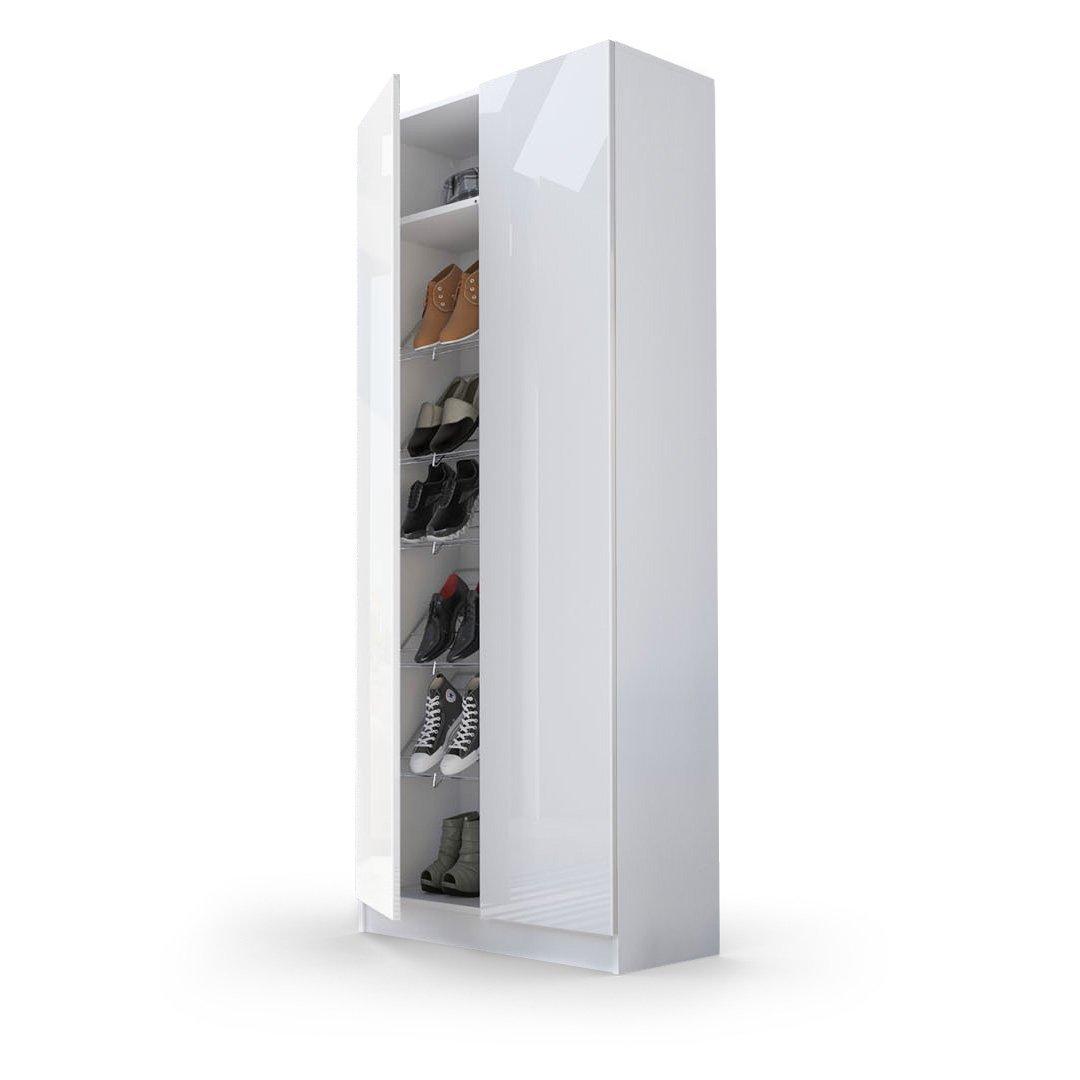 Bianco Mobile Due Ante Multiuso 6 Ripiani Pictures To Pin On Pinterest #694937 1080 1080 Mobili E Pensili Da Cucina