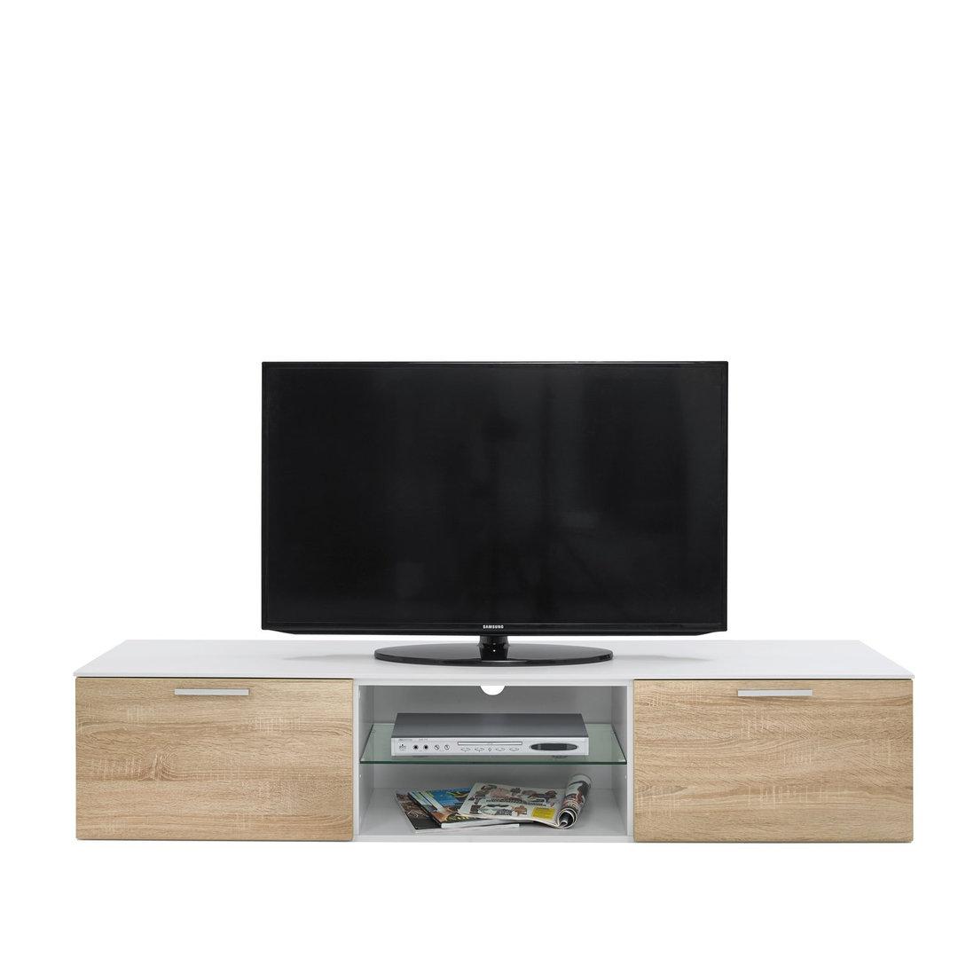 Porta tv moderno Morrison, mobile soggiorno design in più colori