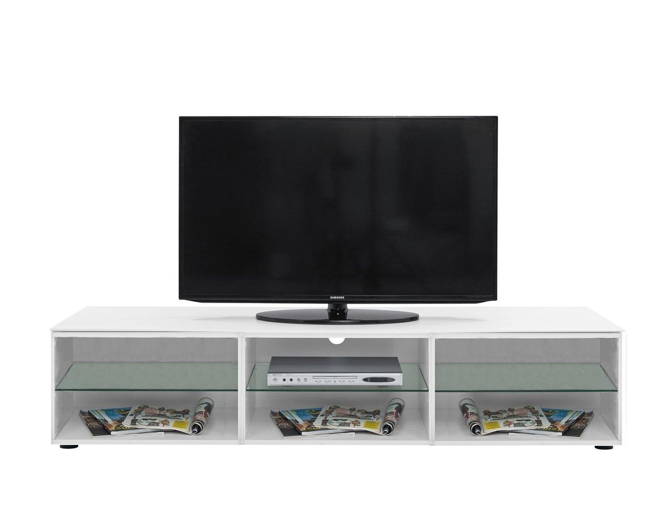 Porta tv moderno Morrison V, capiente, elegante, mobile soggiorno