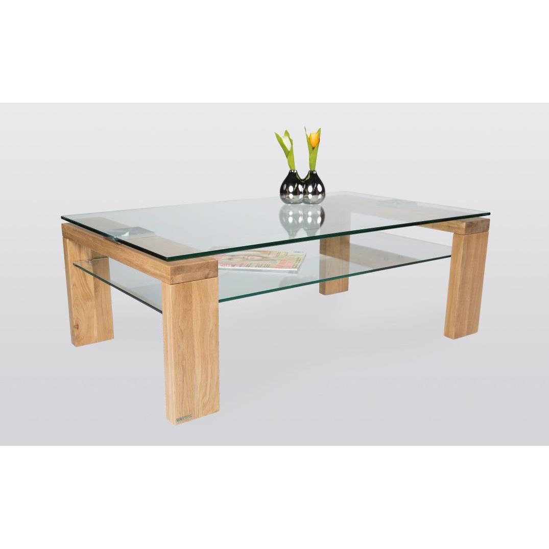 Tavolino basso da salotto moderno alida cm 100x60x38 for Tavolini vetro