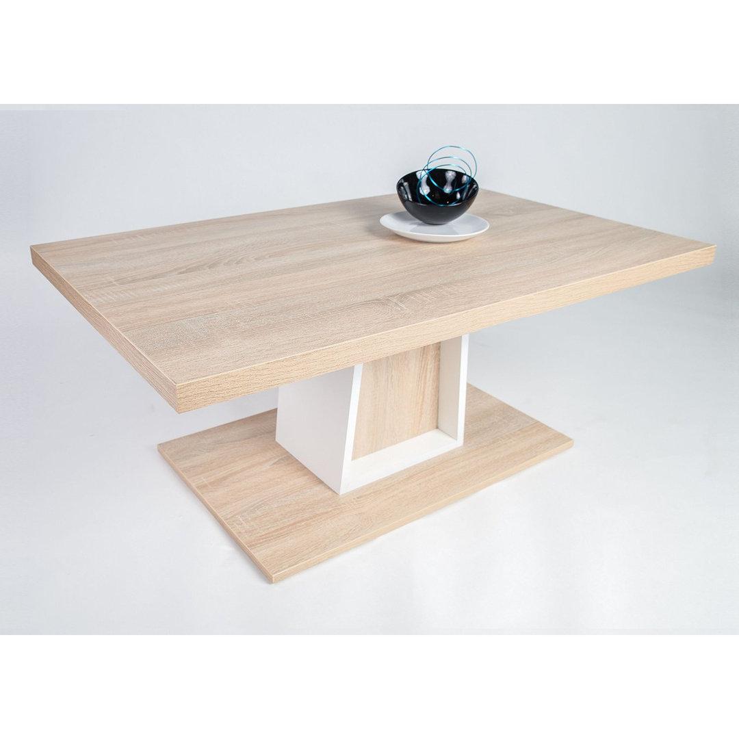 Tavolino da salotto Nicola, cm 110x68x49/68 con ...