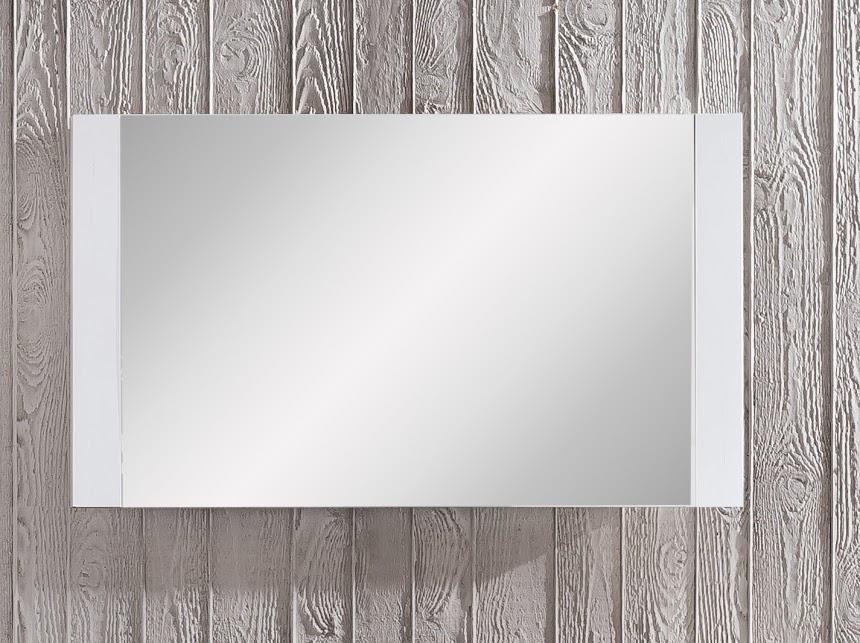 Specchio Moderno Per Ingresso.Specchio Moderno Per Ingresso O Corridoio Demy Contorno Color Pino Bianco Arredions