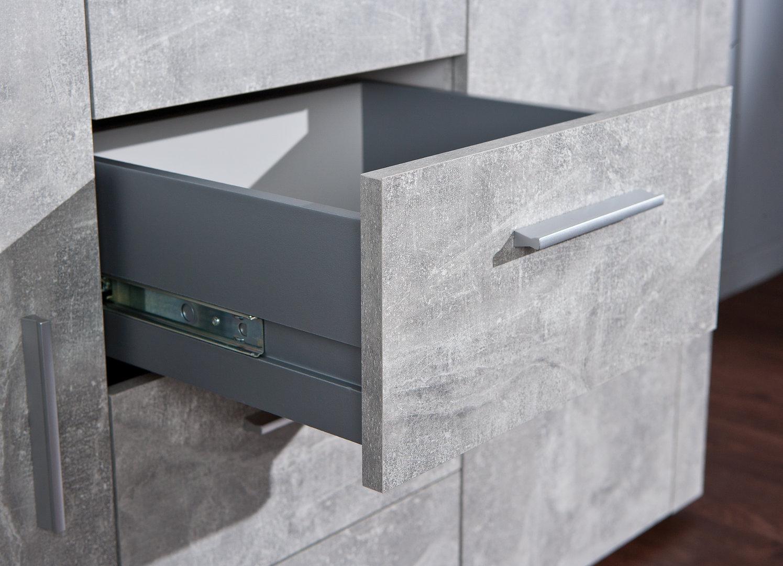 comò moderno ed originale day, mobile soggiorno 2 colori a scelta - Design Soggiorno Moderno 2