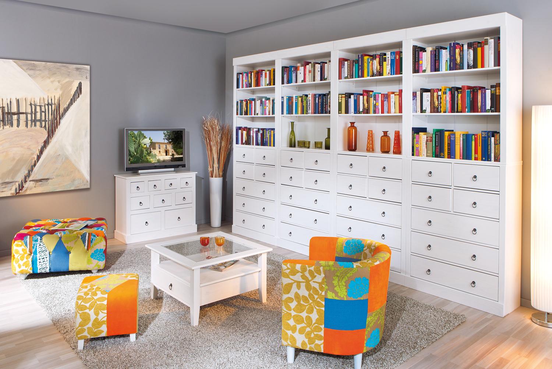 Libreria componibile Aurora 22,mobile soggiorno,cassettiera