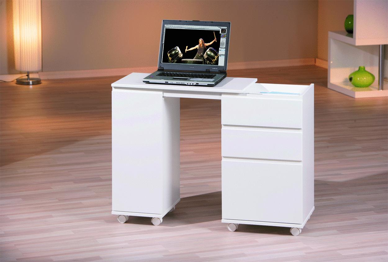 Scrivania salvaspazio compatta shorty mobile richiudibile - Mobile con scrivania ...