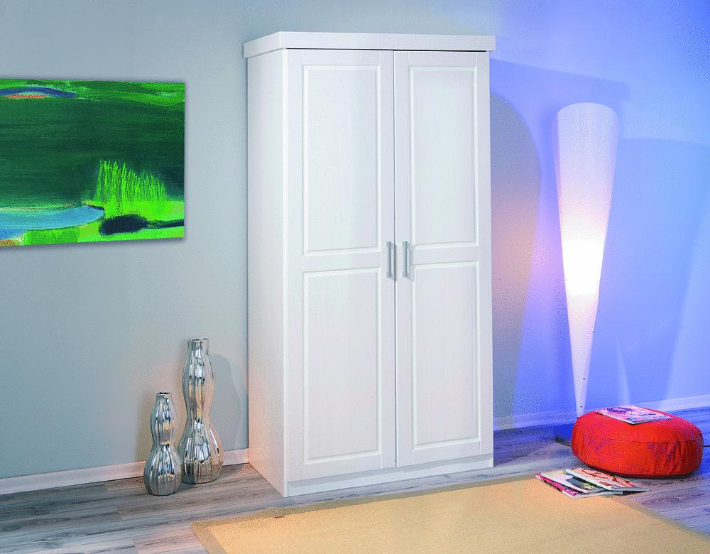 Armadio in legno massello will mobile bianco per camera for Mobile per cameretta