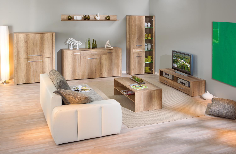 Tavolino moderno rovere Volo 33,tavolo da caffè per soggiorno, mobile ...