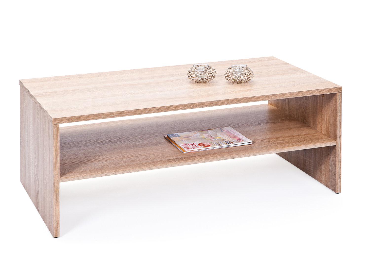 Tavolino moderno rovere volo tavolo da caff per soggiorno for Tavolo da soggiorno moderno