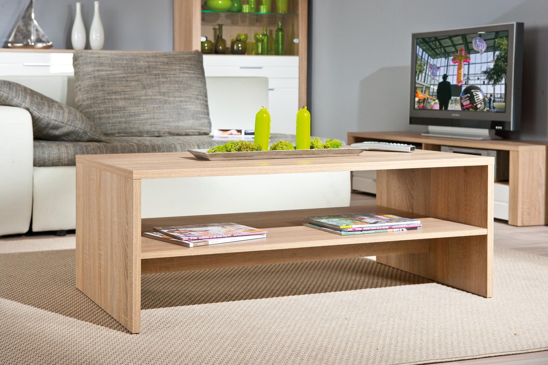 Tavolino moderno rovere volo tavolo da caff per soggiorno - Tavolo da salotto moderno ...