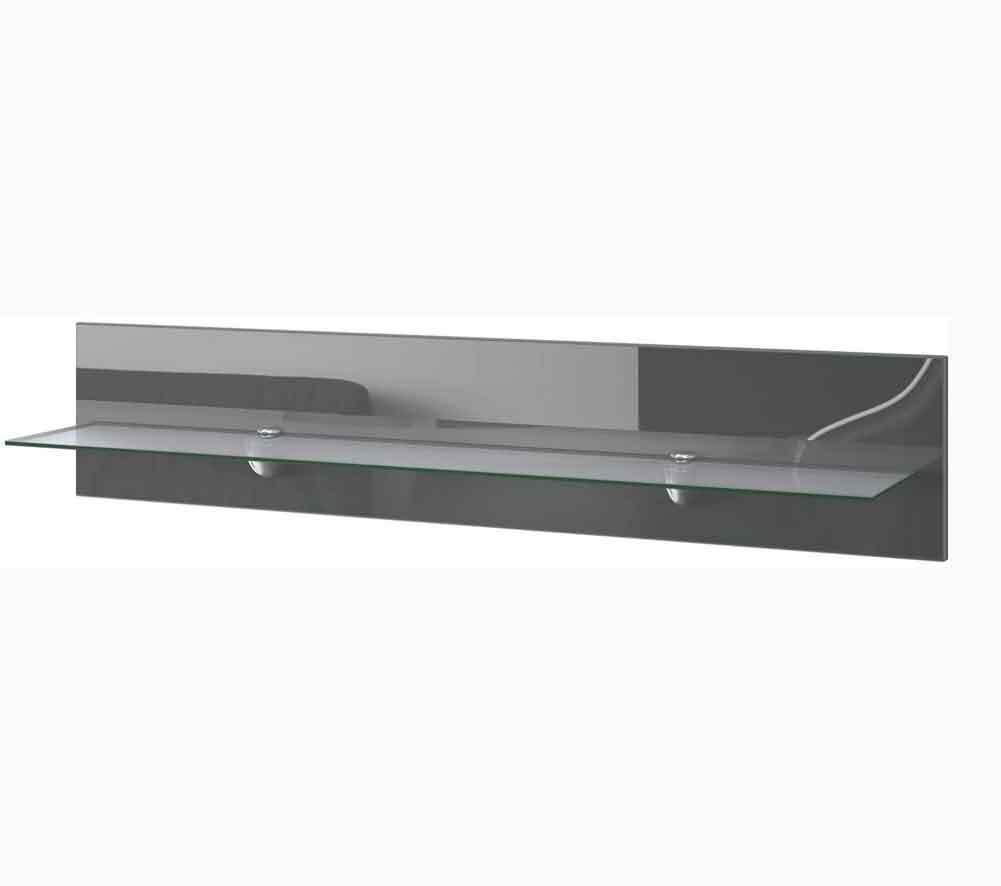 140 cm WE//018 Set di 3 Mensole in Vetro