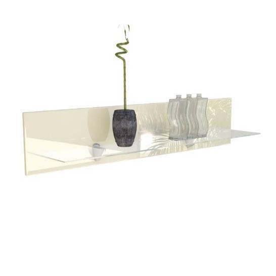 Mensole In Vetro Con Led.Ariel Mensola In Vetro Moderna Cm 98 Complemento Arredo In 13 Colori Con Led