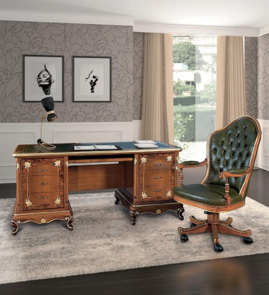 Poltrona Ufficio In Stile.Poltrona President Lusso Art Deco Poltrone Studio Ufficio Mobili
