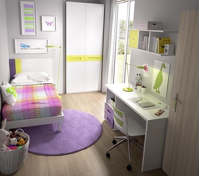 Camera per bambini e ragazzi k 512 mobili moderni e colorati - Armadio camera ragazzi ...