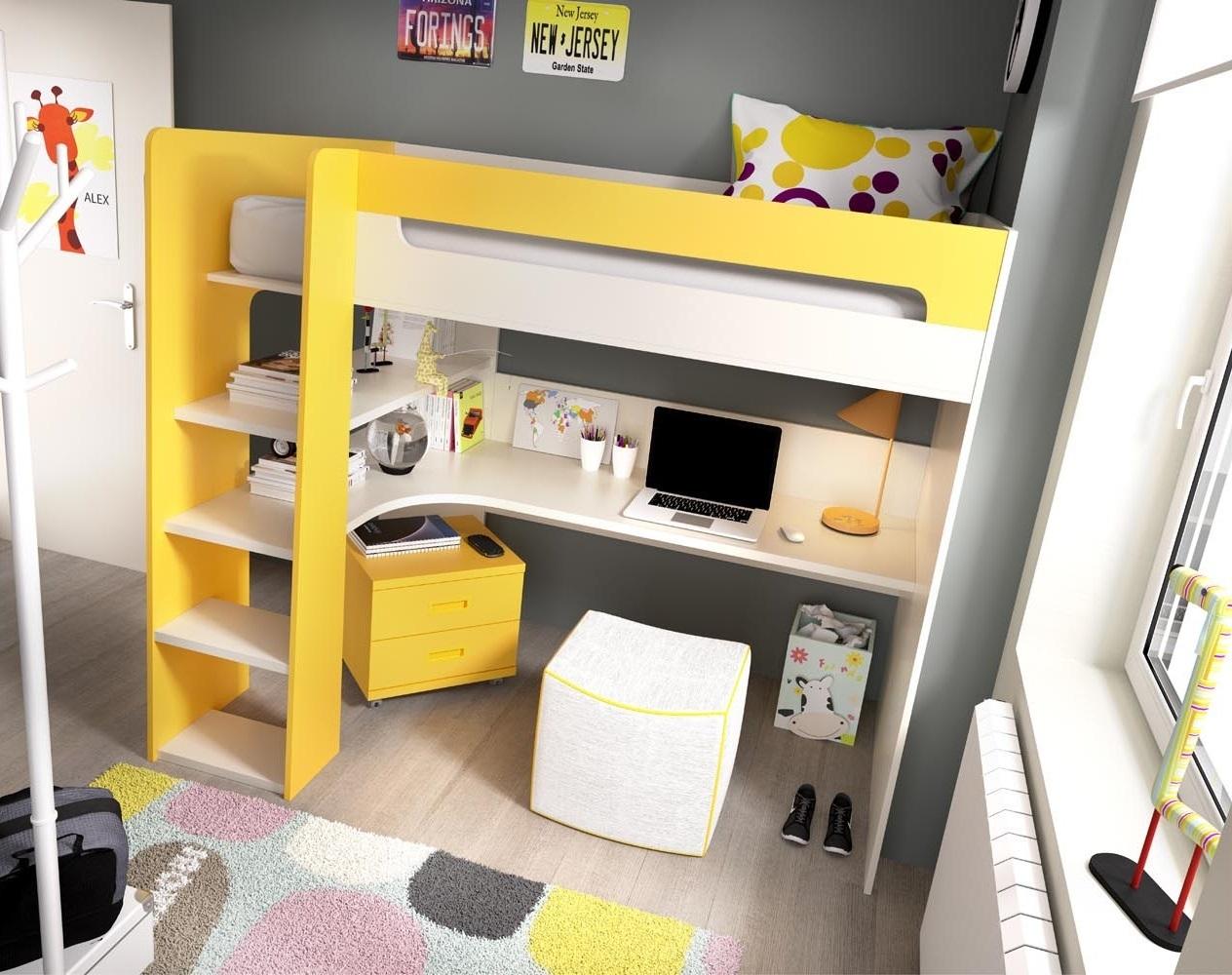 Letti a baldacchino per bambini design casa creativa e for Letti a castello per 3 bambini